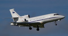 Repubblica Italiana / MM62244 / Dassault Falcon 900EX / EBBR-BRU 07L /  (RVA Aviation Photography (Robin Van Acker)) Tags: brussels airplane photography airport outdoor aircraft aviation air jet planes vehicle airlines airliner jumbo trafic jetliner avgeek avitionphotography