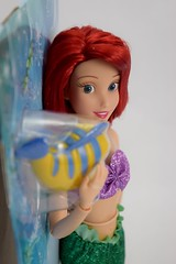 2016 Ariel Classic 12'' Doll - US Disney Store Purchase - Deboxing - Cover Off - Midrange Left Side View (drj1828) Tags: disneystore doll 12inch classicprincessdollcollection 2016 ariel flounder purchase deboxing
