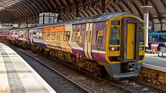 158784 (JOHN BRACE) Tags: york trains class 1992 northern seen derby built 158 doncaster livery dmu brel 158784
