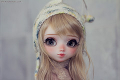 Happy (super) belated b-day Cori! (-Poison Girl-) Tags: pullip pullips doll dolls oren custom customs full ooak poisongirlsdolls poisongirl poison girl poisongirldolls rewigged new hair wig eyechips blonde wavy waves fringe nose carving mouth lips sweet natural cute makeup faceup handmade handpainted repaint repainted freckles 2016 june junio pecas groove inc junplanning leeke eyeshadow eyes