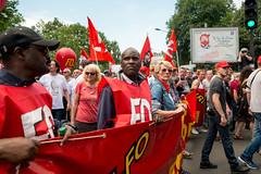 Contre la loi travail El Khomri (dprezat) Tags: street people paris nikon contest protest politique fo manifestation opposition d800 syndicat forceouvrire nikond800 loitravail elkohmri
