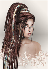 No-Match-No-Mojito ([] Nieor Svir []) Tags: woman meshbodylara style lotd poetic maitreya fashion hair blogging sl secondlife logo meshhead alterego hairfair16 personen portrt nomatch