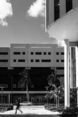 Downtown FIU (fiu) Tags: white black campus university florida miami international em mmc fiu boj pg5 ahc5