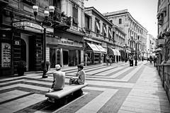 Sanremo - corso Matteotti (Silvan72) Tags: street bw italy monochrome architecture nikon sanremo