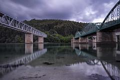 Tres puentes (montoablasa1) Tags: paisaje landscape color galicia
