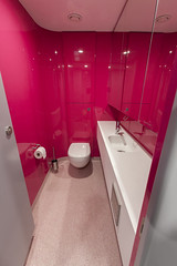 Altro Showroom London 2016-Altro Whiterock Chameleon-Altro Whiterock Satins-AltroScreed Quartz-51 (Altro USA) Tags: walls showroom retail resin pink neutral generalareas chameleon whiterock
