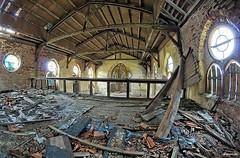q3 (urbex66400) Tags: abandoned church kosciol urbex verlassen opuszczone opuszczony sony a550 indoor urban exploration