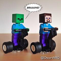#LEGO #Minecraft #Steve #Zombie #Braaains #Segway #PT #SegwayPT #LEGOsegway #LEGOsegwayPT #LEGOminecraft @segwayinc @lego_group @lego @bricksetofficial @bricknetwork @brickcentral (@OscarWRG) Tags: lego minecraft steve zombie braaains segway pt segwaypt legosegway legosegwaypt legominecraft