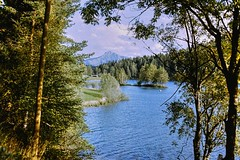Lake in Tirol (Jurek.P) Tags: austria tirol jezioro lake mountainscape mountains alps skan scan 35mm prakticasupertl jurekp