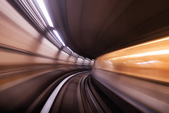 High speed (fil.nove) Tags: wormhole metropolitana torino turin italia italy piemonte motion blur movimento warp speed abstract astratto canon g7x compact camera 1 sensore subway underground tube val vhicule automatique lger gruppo torinese trasporti gtt stazione station velocit canong7x compactcamera 1sensore cunicolo spaziotemporale galleria warpspeed thunnel slowshutterspeed tunnel fast train railway travelphotos transportation publictransportation highspeed