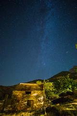 Va Lactea en Ceresa. Milky Way in Ceresa. (Hurti) Tags: ceresa nocturnas sobrarbe sony viaje a6000 alpha