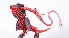 Tyranid Warrior: Lash whip (Will Vale) Tags: tyranids 28mm 40k wh40k gamesworkshop tyranid scifi tyranidwarrior