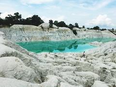 Lake Danau Kaolin Green Water Airbara Koba BangkaTengah Bangka Wonderfulindonesia INDONESIA ASIA (eriko_ie) Tags: lake danau kaolin green water airbara koba bangkatengah bangka wonderfulindonesia indonesia asia
