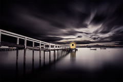Sorrento Pier (Leanne Cole) Tags: nikond800 leannecole leannecolephotography photos fineartphotography fineartphotographer images environment environmentalphotography environmentalphotographer photographer victoria australia sorrento pier formatthitechfilters formatthitech ndfilter longexposurephotography longexposure benroaustralia