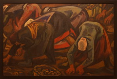 Victor Ivanovich Ivanov, b. 1924, Harvesting Potatoes, 1967, oil on canvas, accession No -8608, Russian museum, St.Petersburg (Sergei P. Zubkov) Tags: therussianmuseum stpetersburg october 2016 art kunst painting oil canvas