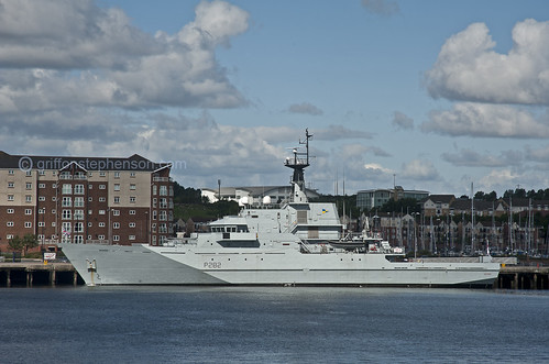 H M S Severn at Northumbria Quay