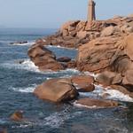 Phare de Mean Ruz / Ploumanac`h Lighthouse /  Perros-Guirec / France thumbnail
