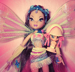 Fairy of Water (Bloom龍火) Tags: nature water flora magic fairy glam layla piff chatta winxclub enchantix