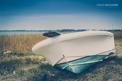 Land Ho (ismailwilliams) Tags: ocean old sea fish water grass vintage pier boat fishing ship shoreline dry shipwreck shore land sail parked ho wreck plank stranded refuge ravage