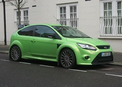 2010 Ford Focus RS (Stuart Axe) Tags: car focus rs 2010 fordfocus fordfocusrs rallyesport ultimategreen