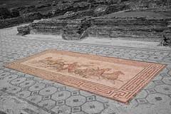 Mosaic Art, Ancient Olympia, Greece