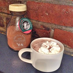 "It's another dreary, raw November day outside today.  We're in the farmhouse enjoying the warmth of the pellet stoves and treating ourselves to a cup of comforting hot chocolate.  How could I pass up hot chocolate mix made in neighboring Vermont, packaged • <a style=""font-size:0.8em;"" href=""http://www.flickr.com/photos/54958436@N05/15547484178/"" target=""_blank"">View on Flickr</a>"