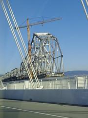 (sftrajan) Tags: sanfrancisco california puente oakland demolition baybridge pont newyears easternspan january2015