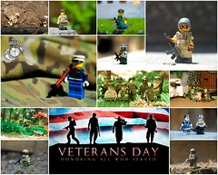 Veterans Day (LoganLego) Tags: holiday collage modern lego vietnam custom veteransday customlego brickarms minifigcat eclipsegrafx citizenbrick