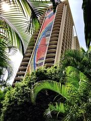 rainbow tower at the hilton hawaiian village (aprilpix) Tags: sun beach fun sand surf waves waikiki aprilpix rainbowtower hiltonhawaiianvillagebeachresort