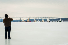 01 (K_Marsh) Tags: hudsonriver hudsonvalley iceboating kingstonrhinecliffbridge iceyachting