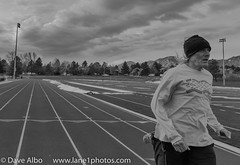 Me, stride. (davealbo442) Tags: sky usa sports nature sport clouds training outdoors coach colorado track unitedstates outdoor scenic running boulder runners coaching workout runner trackandfield d810 fairviewhighschool