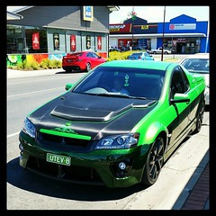 Very nice Holden Ute (florahaggis) Tags: square australia utility victoria squareformat horsham v8 holden maloo pc3400 iphoneography instagramapp uploaded:by=instagram