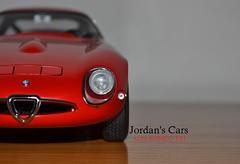Alfa romeo Giulia tz (tz1) (MODEL CAR PASSION) Tags: alfa romeo tz giulia 118 zagato diecast autoart tz1