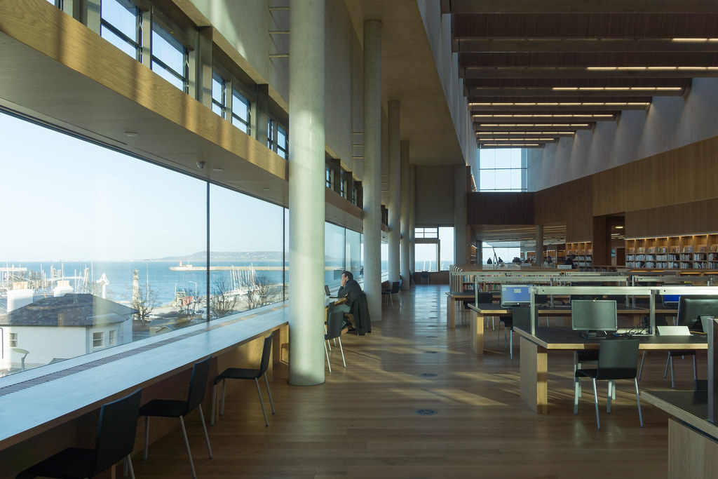 New Public Library In Dun Laoghaire, Officially Called DLR Lexicon Opened To The Public Today And It Is Worth Visiting Ref-100541
