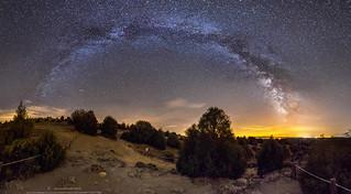 Vía Láctea Hoces del Duratón