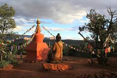 Amitabha Stupa (gebodogs) Tags: arizona vortex meditate peace buddha stupa sedona peaceful meditation prayerflags om contemplation mantra amitabha stateoftheunionaz ifyougotosedonayoumustgohere