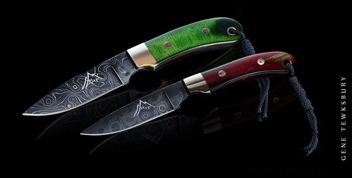 green-red knife composit