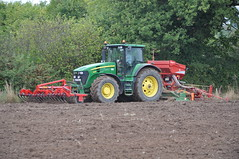 John Deere 7930 Tractor with a HE-VA Front Roller 400, an Amazone Power Harrow & Kverneland Accord S-Drill Seed Drill (Shane Casey CK25) Tags: county ireland winter horse irish tractor green field barley set work accord john hp corn nikon power earth farm cork farming grain working seed front soil dirt till crop 400 land roller crops farmer agriculture jd setting pulling contractor deere sow drill harrow tilling drilling amazone sowing agri rathcormac d90 tillage kverneland 7930 heva sdrill