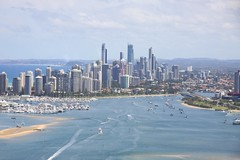 Gold Coast (tco1961) Tags: gold coast view australia aerial helicopter qld seaworld 2014 img1356 tco1961
