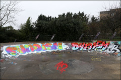 Fundism / Dyetism (Alex Ellison) Tags: urban graffiti boobs skatepark graff diet westlondon tks fund pfb phm dyet dyetism fundism purehotmoves
