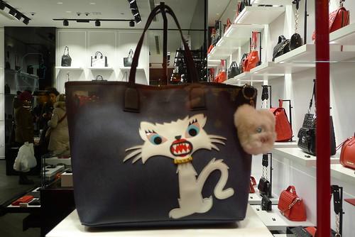 Vitrines Karl Lagerfeld - Londres, décembre 2014