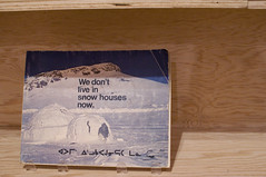 we don't live in snow houses now (gunstreet.girl) Tags: art vancouver books douglascoupland vancouverartgallery