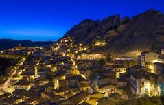 Pietrapertosa (Basilicata, Italy) (nicola.figliuolo) Tags: night landscape italia cityscape basilicata cape nights pietrapertosa potd:country=it