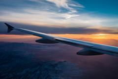 Nevada sunset (BPPrice) Tags: sunset airplane lasvegas nevada windowseat
