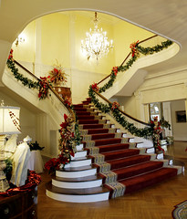 12-12-2014 Governor's Mansion Christmas Decorations
