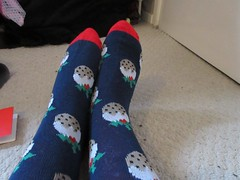 Friday, Boxing Day IMG_0601 (tomylees) Tags: christmas socks december day pudding carol boxing friday middlesex 26th 2014