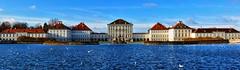 Schloss Nymphenburg/Mnchen (manuelecant) Tags: blue castle water germany munich mnchen wonder bayern bavaria king royal palace monaco schloss deutchland nymphenburg baviera canonsx40hs