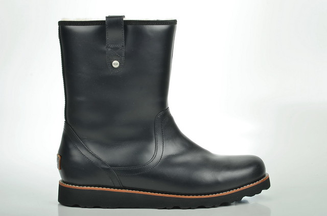boot australia stoneman schwarz ugg lammfell 3247 gefüttert uggaustralia kalbsleder herrenbootsgefüttert