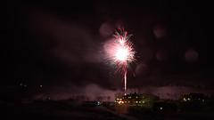 New Year #2 (theblueraindrop) Tags: new winter december village sweden bokeh year january firework scandinavia 2015 katterjåkk katterjokk