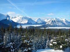 Lookout Cross Country Ski - Upper and Lower Kananaskis Lakes (benlarhome) Tags: canada ski trek kananaskis skiing path moose lookout trail alberta ptarmigan firelookout crosscountryski peterlougheedprovincialpark peterlougheedpark peterlougheed